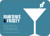 Snowman Martini - Front View