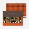 3 Photo Thanksgiving Photo Cards - Saffron