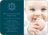Holiday Baptism Invitation - Front View