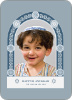 Jewish Arch Hanukkah Card - Front View