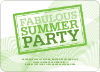 Fabulous Summer Party - Front View