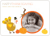Happy Thanksgiving Cards - Front View