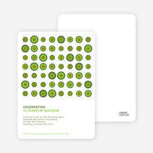 Abstract Party Invitations - Artichoke Dip
