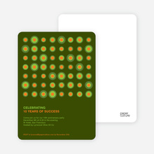 Abstract Party Invitations - Army