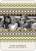 Cherished Memories Kwanzaa Holiday Photo Cards - Bamboo