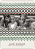 Cherished Memories Kwanzaa Holiday Photo Cards - Celadon