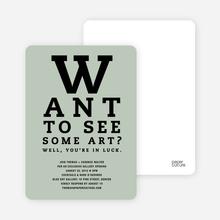 Art Eye Chart - Ash