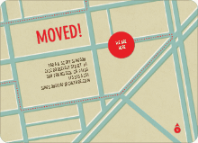 Moving Map - Blue Pavement