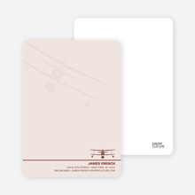 Aviator Stationery - Blush