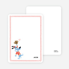 Babe Woof: Baseball Stationery - Persimmon