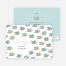 Nesting Bird - Sea Blue