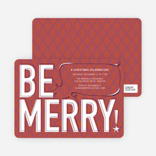 Be Merry! - Terra Cotta