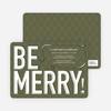 Be Merry! Holiday Invitations - Khaki