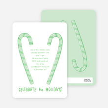 Candy Cane Celebration - Emerald Green