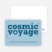 Cosmic Space Voyage - Cadet Blue
