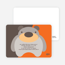 Cuddly Bear - Mandarin Orange