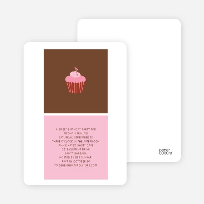 Cupcake Party - Pink Sprinkle