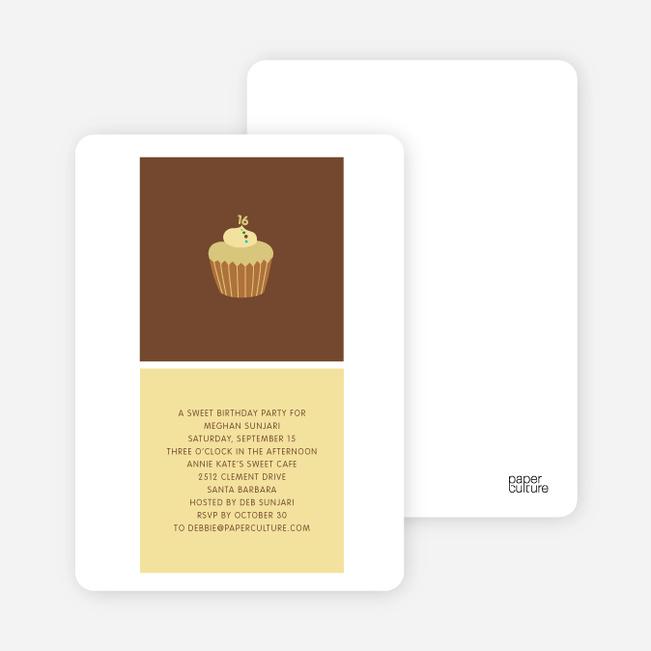 Cupcake Party - Pine Nut