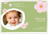 Flower Photo Cards - Apple Green