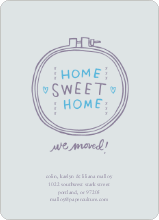 Embroidery: Home Sweet Home - Mountain Spring