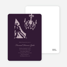 Dinner and Dancing Invitations - Mulled Wine