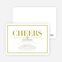 Elegant Cheers - Cilantro