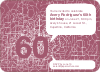 60th Birthday Party Invitations with a Numbers Theme - Plum