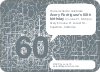 60th Birthday Party Invitations with a Numbers Theme - Pewter