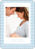 Pacifier Pregnancy Announcements - Blue Blanket