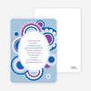 Festive Colors Multi Purpose Party Invitations - Blue Brisk
