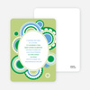 Festive Colors Multi Purpose Party Invitations - Lime Light