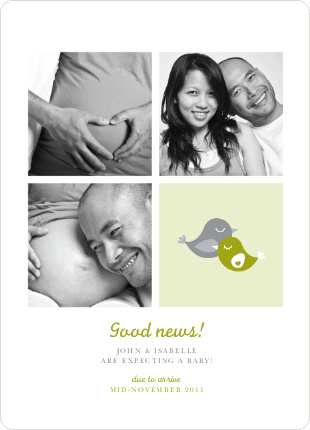 Foursquare Pregnancy Announcements - Spinach