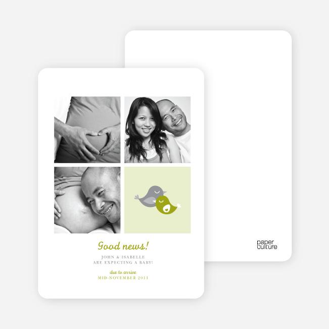 Foursquare Pregnancy Announcements - Spinach