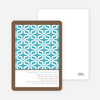 Geo Pattern Bridal Shower Invitations - High Tide