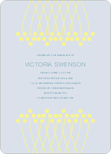 Unique Bridal Shower Invitations - Lemon Yellow