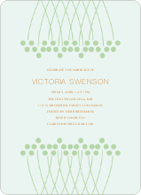 Unique Bridal Shower Invitations - Bamboo