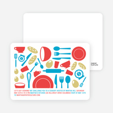 Iron Chef Party Invitations - Marinara