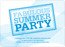 Fabulous Summer Party - Sky Blue