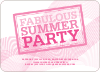 Fabulous Summer Party - Shocking Pink