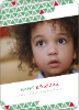 Kwanzaa Triangles Holiday Photo Cards - Wintergreen