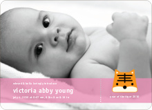 Tony the Tiger Birth Announcements - Carnation