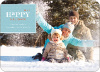 Simply Classic Holiday Photo Cards - Aquamarine