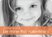 Be Mine Valentine's Day Photo Cards - Cinnamon