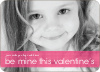 Be Mine Valentine's Day Photo Cards - Fuschia