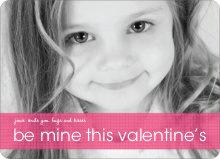Be Mine This Valentine's - Fuschia