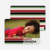 Kwanzaa Bars Photo Cards - Oyster