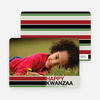Kwanzaa Bars Photo Cards - Oyster