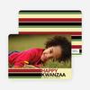 Kwanzaa Bars Photo Cards - Buttercup