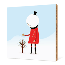 Whimsical Snowman - Chili Pepper