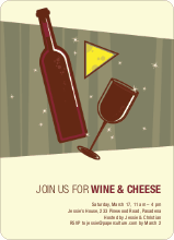 Wine & Cheese Party - Burgundy